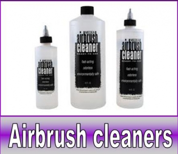 Airbrush cleaners / toebehoren