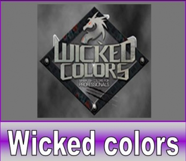 Wicked colors airbrush verf
