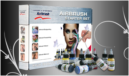Bodypaint airbrush set