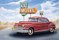 "| Schmincke Thema set  ""Route 66\"" by Georg Huber"