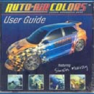 Auto air colors users guide VAN 19,95 voor 14,95
