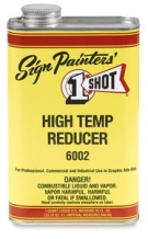 one shot 6002 high temp reducer 1 ltr