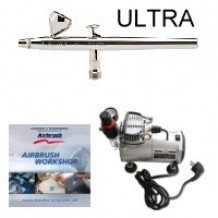 H&S ultra beginners airbrush set